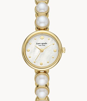 montre-bracelet à perle kate spade new york