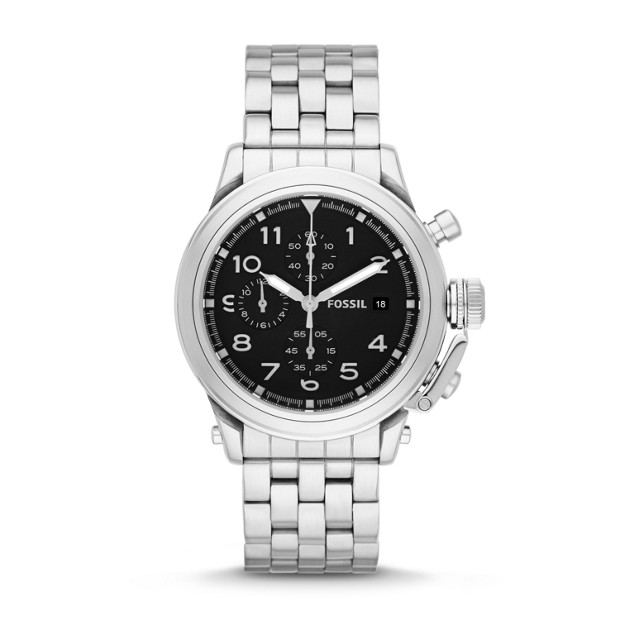 Limited Edition Compass Chronograph Stainless Steel Watch