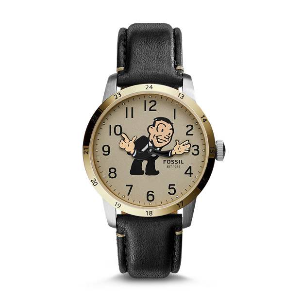 Limited Edition Townsman Brown Leather Watch