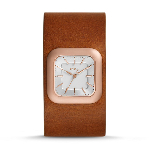 Limited Edition Cedar Leather Watch