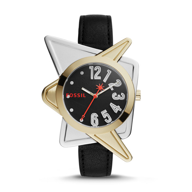 Limited Edition Betty Willis Three-Hand Leather Watch