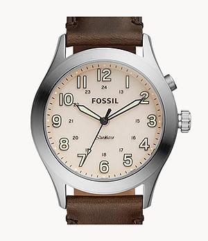 The Archival Series Starmaster Three-Hand Brown Leather Watch