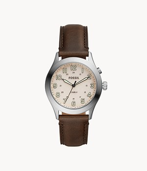 Herrenuhr The Archival Series Starmaster Leder Dunkelbraun
