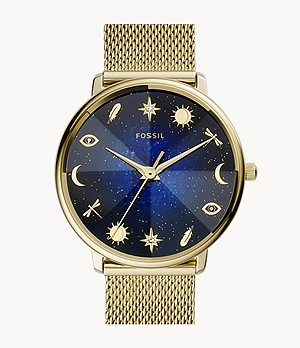 Limited Edition Prismatic Mystic Three-Hand Gold-Tone Stainless-Steel Watch