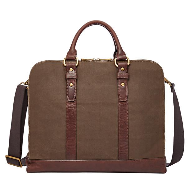 Dillon Large Double Zip Workbag
