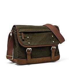 06e3c846cb0e Messenger Bags for Men: Shop Leather Men's Messenger Bags - Fossil