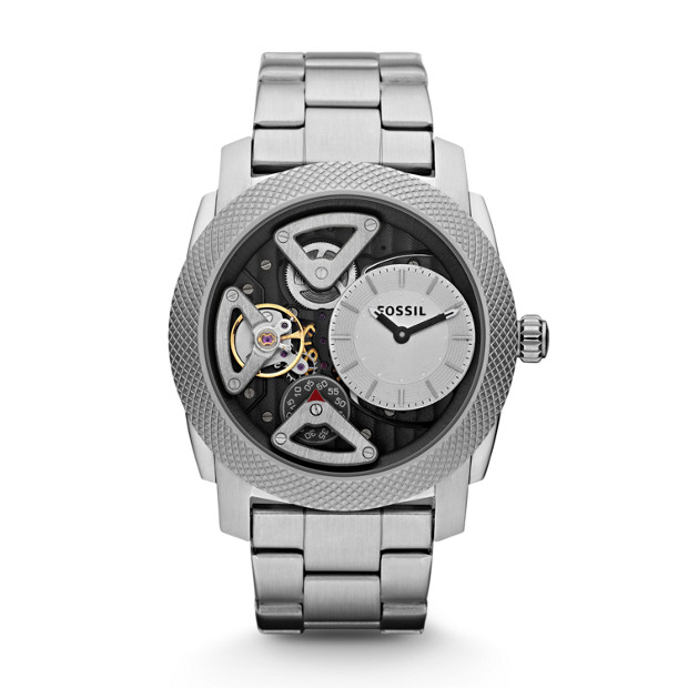 Machine Twist Stainless Steel Watch