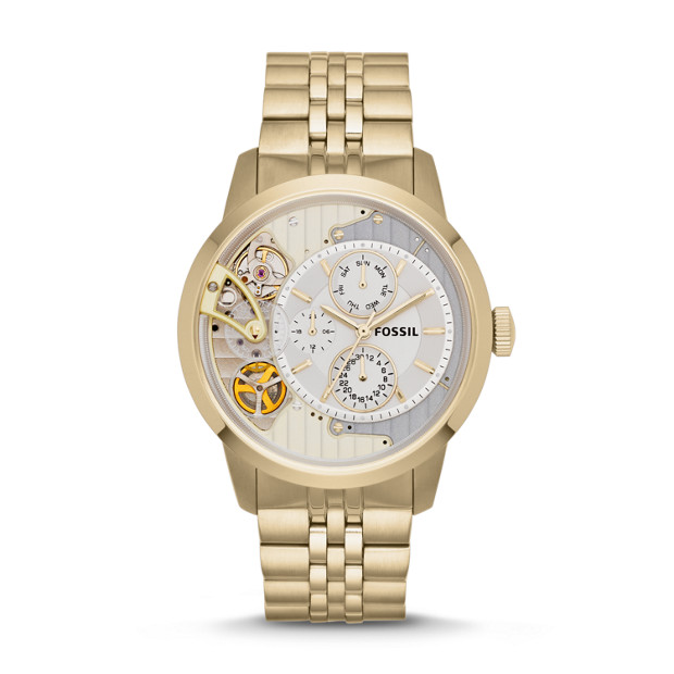 Townsman Multifunction Gold-Tone Stainless Steel Watch