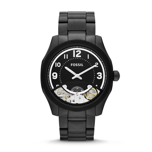 Foreman Twist Black Stainless Steel Watch