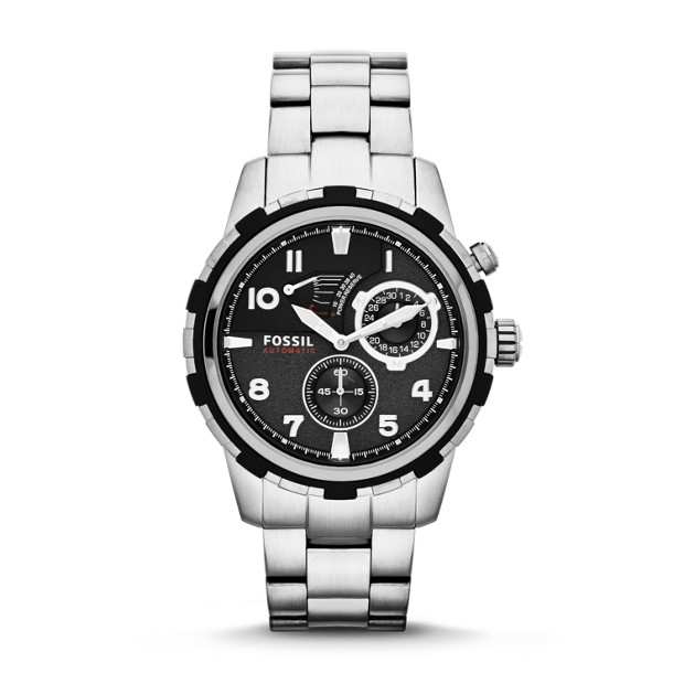 Dean Automatic Stainless Steel Watch