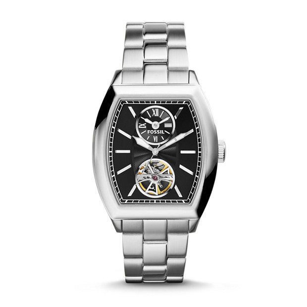 Narrator Automatic Stainless Steel Watch