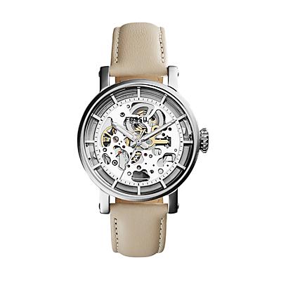 Original Boyfriend Mechanical Bone Leather Watch