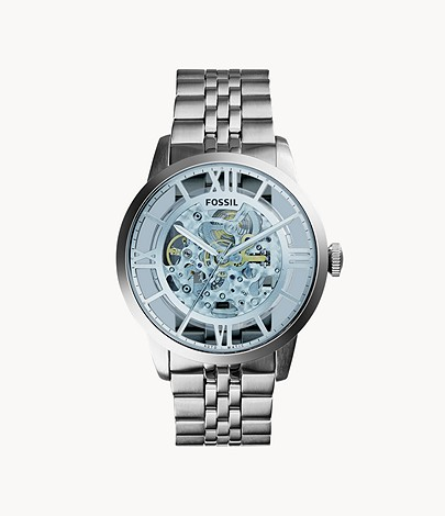 mens fossil townsman automatic watch