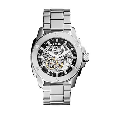 Modern Machine Automatic Stainless Steel Watch