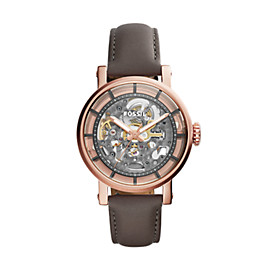 Montre automatique Original Boyfriend en cuir gris