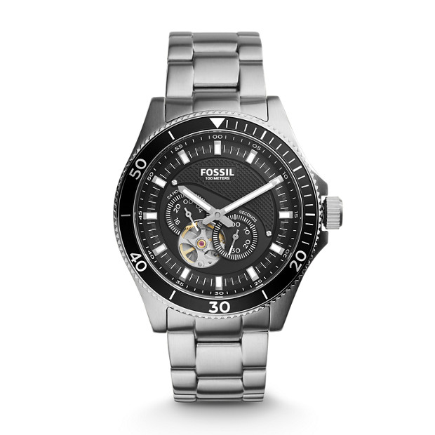 Wakefield Automatic Stainless Steel Watch