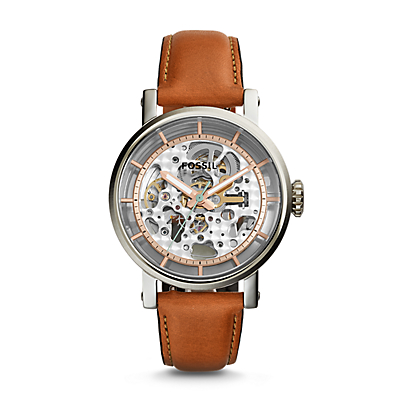 Original Boyfriend Automatic Light Brown Leather Watch