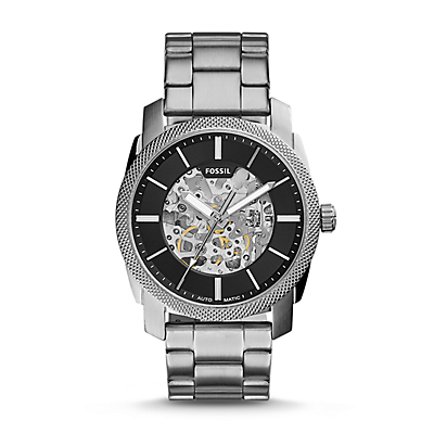 Machine Automatic Stainless Steel Watch