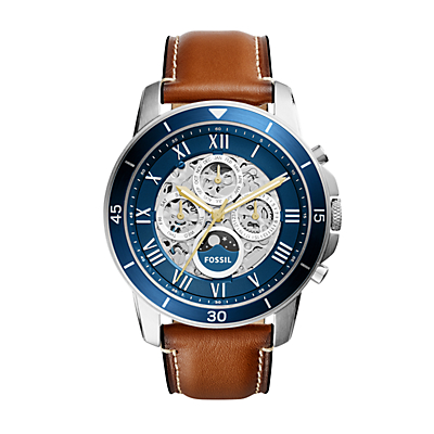 Grant Sport Automatic Luggage Leather Watch