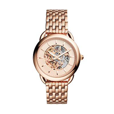 Tailor Automatic Rose Gold-Tone Stainless Steel Watch