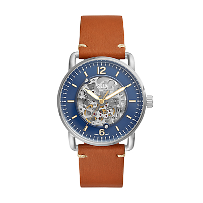 Commuter Automatic Brown Luggage Watch