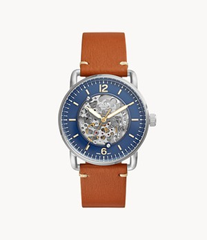 Montre automatique Commuter marron