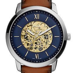 Für Automatikuhren Uhrenamp; Herren Fossil Mechanische HD9IEWY2
