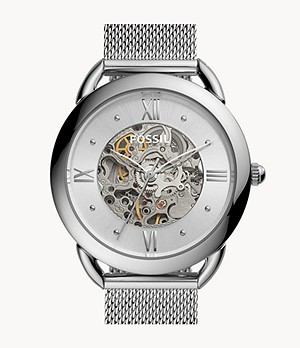Tailor Mechanical Stainless Steel Watch