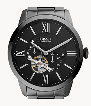 Townsman Automatic Smoke Stainless Steel Watch