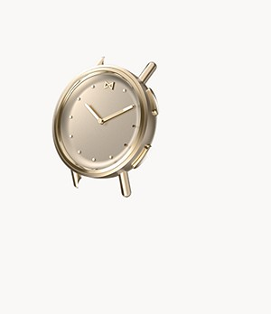 Misfit Path 36mm Watch Case Champagne