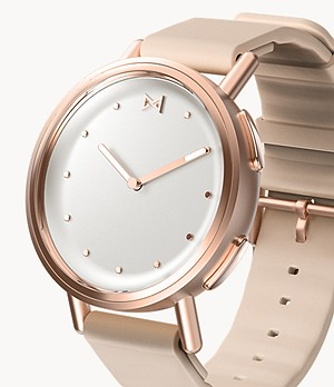 Misfit Path 36mm Rose Tone with Rose Beige Sport Strap