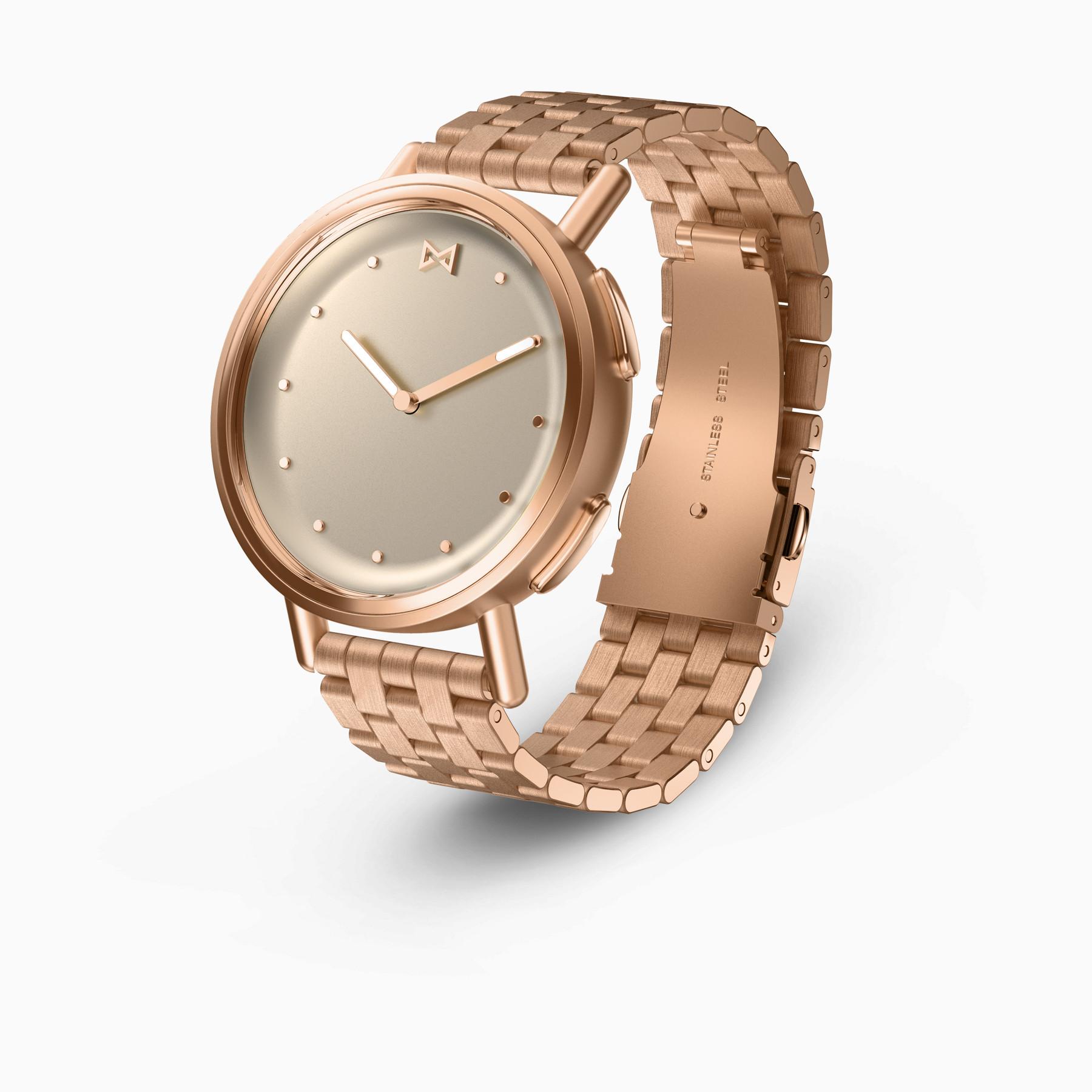 Misfit Path Hybrid Smartwatch (Rose Gold on Bracelet)