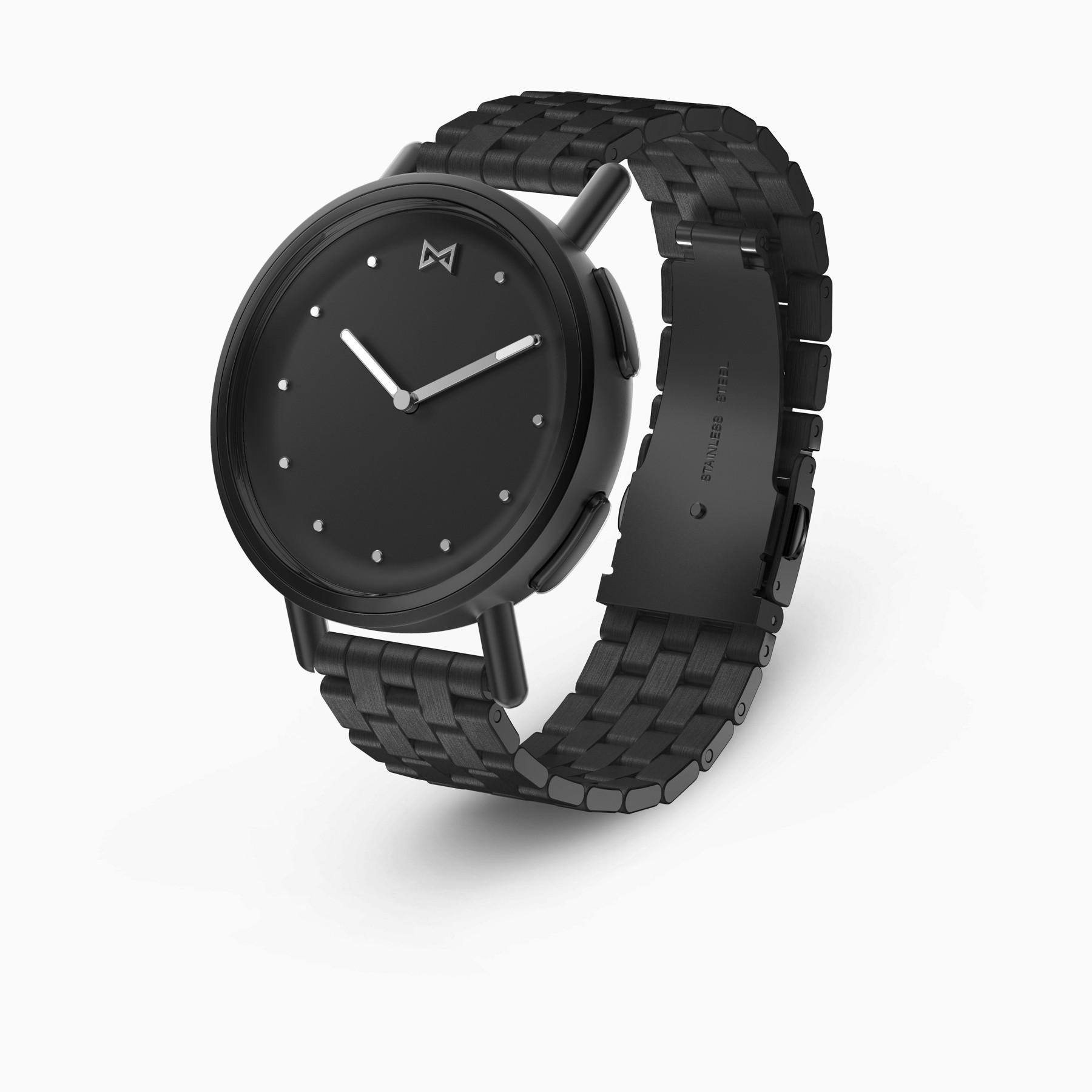 Misfit Path Hybrid Smartwatch (Black on Bracelet)