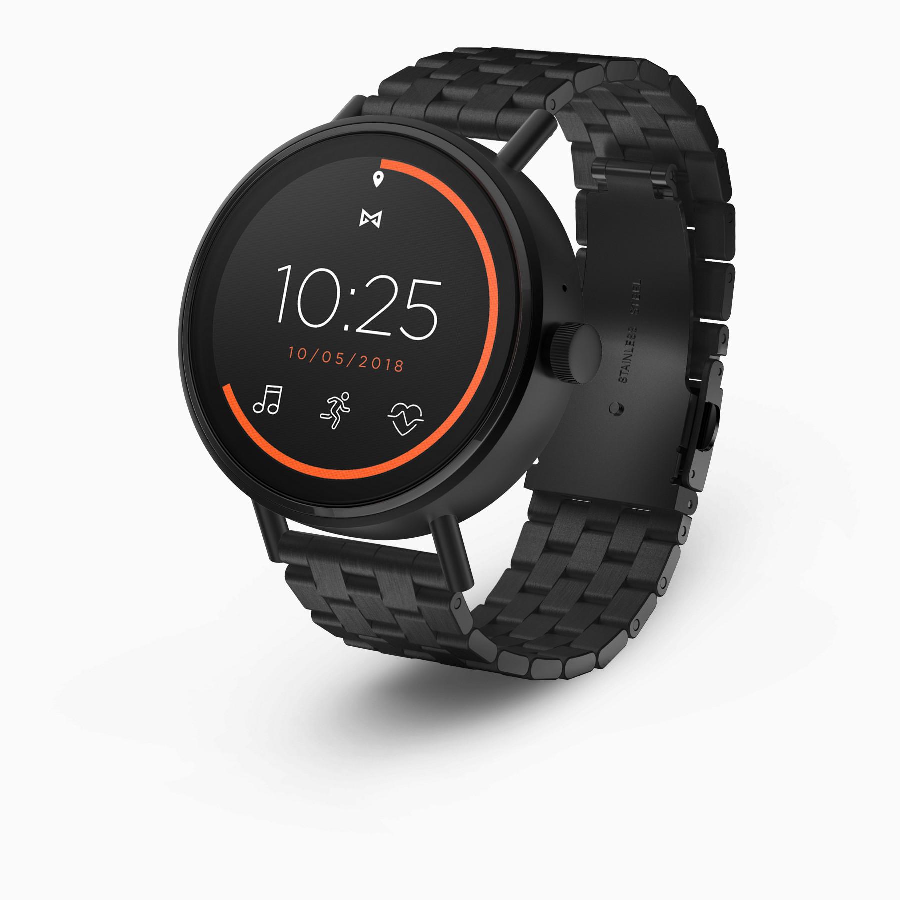 Misfit Vapor 2 Smartwatch - 46mm (Jet Black on Bracelet)