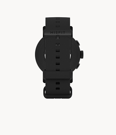 Misfit Vapor X 42mm Black with Jet Silicone StrapMisfit Vapor X 42mm Black with Jet Silicone Strap