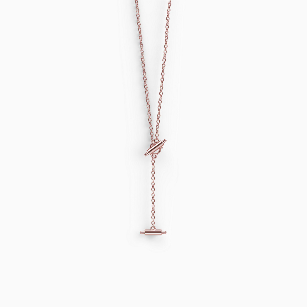 Misfit Ray Lariat Necklace