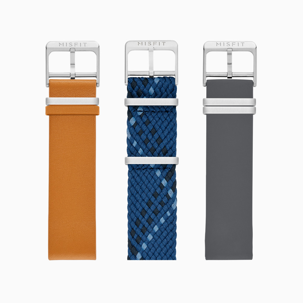 20mm Misfit Smartwatch Assorted Straps 3-Pack