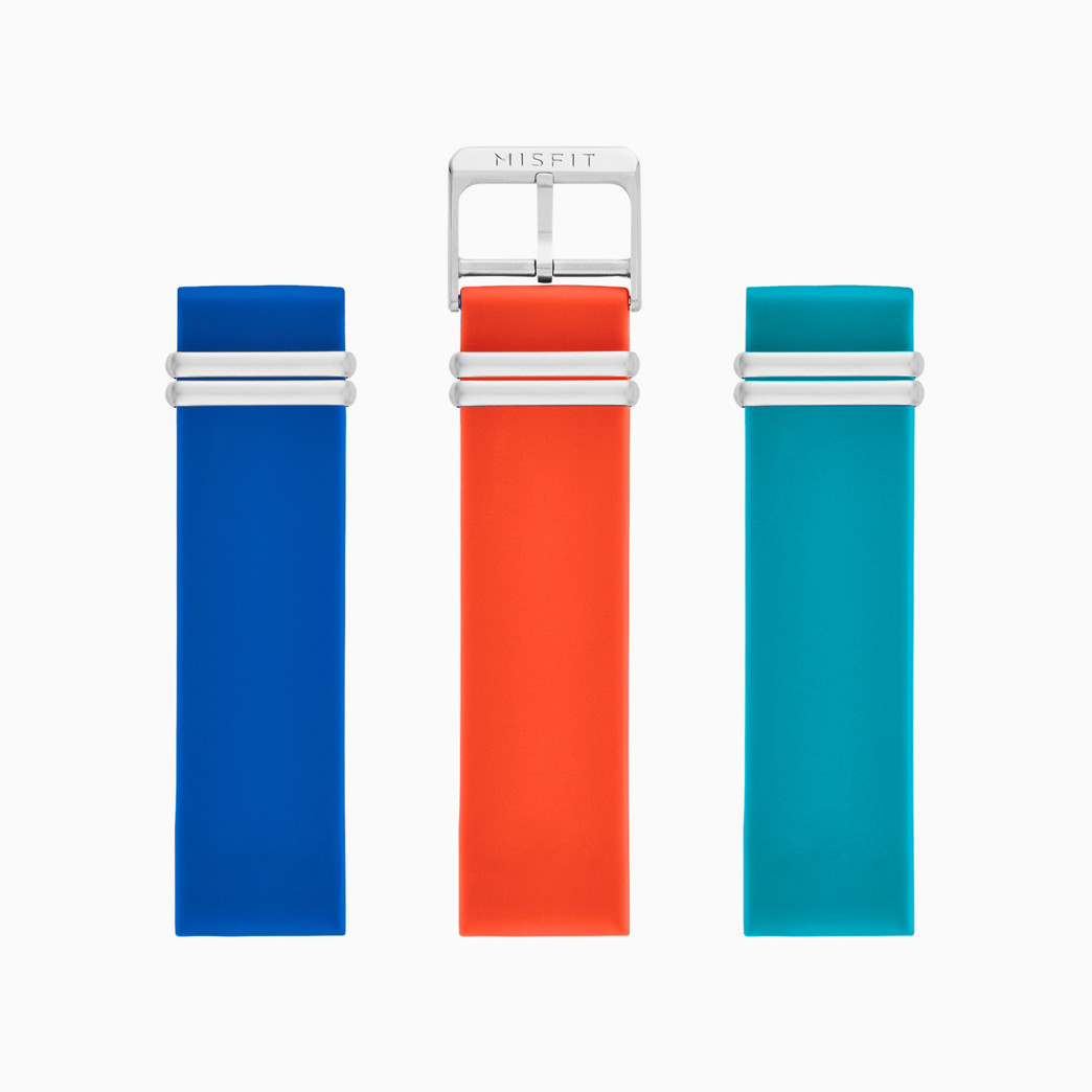 20mm Misfit Smartwatch Sport Straps 3-Pack