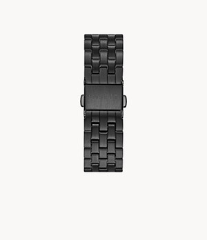 Misfit 16mm Smartwatch Jet Stainless Steel Bracelet