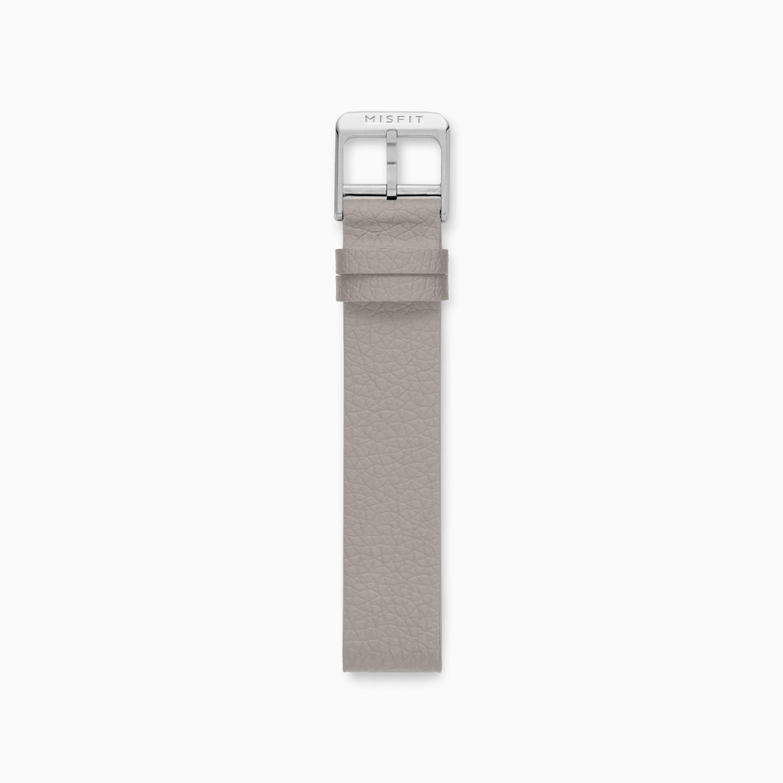 16mm Bracelet en silicone façon cuir pour montre connectée Misfit