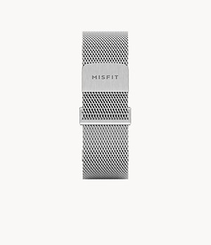 Misfit 20mm Smartwatch Steel Magnetic Milanese Mesh Band
