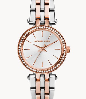 Michael Kors Two-Tone Petite Darci Watch