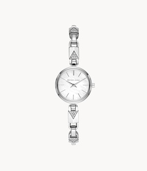 Michael Kors Jaryn Mercer Two-Hand Stainless Steel Watch