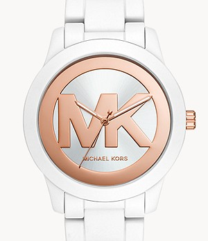 Michael Kors Tibby Three-Hand White Stainless Steel Watch