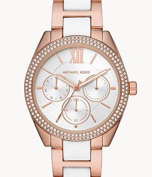 Michael Kors Jan Multifunction Two-Tone Stainless Steel Watch