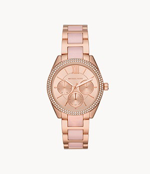 Michael Kors Janelle Multifunction Two-Tone Stainless Steel Watch