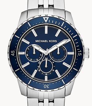Michael Kors Cunningham Multifunction Stainless Steel Watch