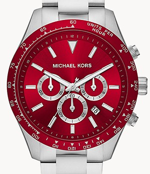 Michael Kors Layton Chronograph Steel Watch