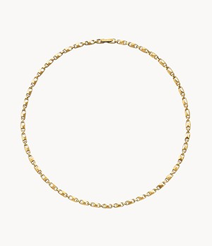 Michael Kors Women's 14k Gold-plated Sterling Silver Necklace