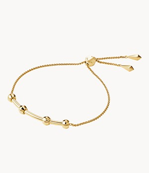 Michael Kors Women's 14k Gold-plated Sterling Silver Starter Bracelet